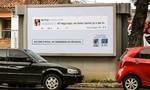Brazil: Bêu xấu tin nhắn phân biệt chủng tộc trên biển quảng cáo