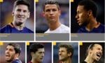 Top 10 cầu thủ xuất sắc nhất thế giới 2015