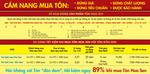 Mua Tôn Hoa Sen – Tiết kiệm ngay 89% so với tôn đôn dem