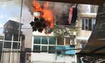 Cháy nhà gần ga Sài Gòn, hàng chục người dân bỏ chạy