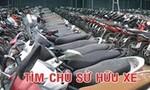 TP.HCM: Công an Q.Bình Tân tìm chủ sở hữu 74 xe máy
