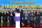 Thông xe toàn tuyến cao tốc Hà Nội - Hải Phòng