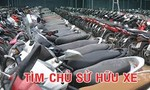 Công an Q. Bình Thạnh tìm chủ sở hữu 4 xe gắn máy
