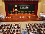 Bầu Chủ tịch và 2 Phó Chủ tịch trong kỳ họp thứ 20 HĐND TPHCM khóa 8