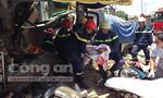 Hiện trường vụ xe ben tông sập nhà dân, 5 người thương vong