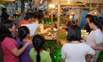 Tái hiện góc chợ quê  và Tết Chôl Chnăm Thmay giữa Sài Gòn