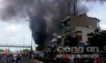 Clip: Cháy lớn tại đường Phạm Văn Đồng