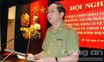 Tăng cường bảo vệ chính trị nội bộ trong tình hình mới