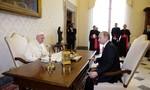 Đức Giáo Hoàng tặng Thiên thần Hòa Bình cho tổng thống Nga
