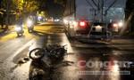 Hai vụ tai nạn trong đêm, ba người trọng thương