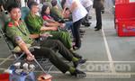 Công an Đắk Lắk hiến trên 3.200 đơn vị máu cứu người