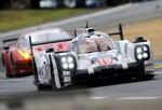 Porsche 919 Hybrid chiến thắng vòng đua 24 H - Le Mans