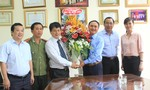 Các đoàn đến thăm báo CATP nhân ngày Báo chí Cách mạng  Việt Nam (21/6/1925 - 21/06/2015)