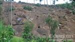 Dùng thuốc nổ phá hủy các hầm vàng trái phép