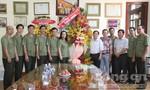 Các đoàn đại biểu thăm và chúc mừng báo Công an TPHCM