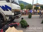 Về quê ăn Tết Đoan Ngọ, 4 người bị xe tải tông tử vong