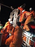 Tai nạn trên biển, 1 người chết, 1 người bị thương