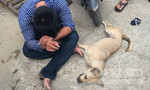 Tên trộm chó dùng roi điện tấn công dân phòng