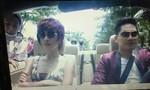 Clip Minh Luân và Kim Tuyến bị dàn cảnh cướp trên xe hơi
