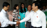 """Chủ tịch nước Trương Tấn Sang: """"Đừng sợ mất ghế mà không cho cử tri nói"""""""