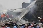 Máy bay rơi xuống khu dân cư ở Indonesia khiến hơn 116 người chết