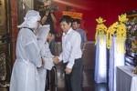 Báo CATP đến viếng hai nhạc sĩ Phan Huỳnh Điểu và Phan Nhân