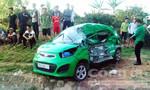 Xe tải tông taxi, tài xế tử vong trong ca bin