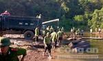 Bắt vụ vận chuyển khối lượng gỗ lậu lớn trên sông