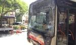 Ba xe buýt tông nhau khiến 28 người nhập viện