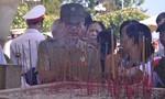 Cựu Công an nhân dân dâng hương tưởng niệm các anh hùng liệt sĩ