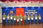 Thăng cấp bậc hàm và nâng bậc lương cho cán bộ chiến sĩ