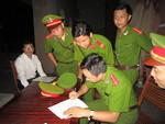 Quy trình bảo vệ, giám sát bộ đề thi THPT Quốc gia 2015 của lực lượng Công an