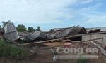 Đồng Tháp: 64 căn nhà tốc mái, hư hỏng nặng vì lốc xoáy