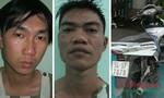 Trinh sát truy đuổi hai tên trộm xe Air Blade như trong phim
