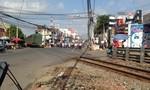 Bị tông chết khi băng qua đường ray lúc tàu hỏa lao đến