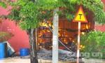 Cháy dữ dội kho sơn ở Đà Nẵng