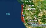 Siêu động đất có thể xảy ra ở vùng Tây Bắc Thái Bình Dương