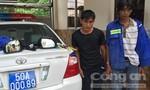 Tổ CSGT Rạch Chiếc bắt nóng 2 đối tượng trộm tài sản