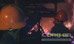 Hỏa hoạn thiêu rụi xưởng gỗ, thiệt hại hàng tỷ đồng