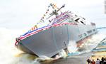 Hải quân Mỹ tung tàu chiến mới nhất tăng cường sức mạnh