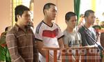 19 năm tù cho 4 thanh niên lười lao động đi cướp giật