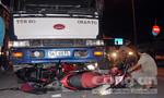Vụ xe tải cuốn 4 xe máy: Một nạn nhân tử vong