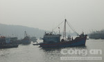Trục vớt thành công một tàu cá của ngư dân bị chìm