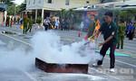 Hơn 200 thanh niên xung kích thi phòng cháy, chữa cháy giỏi