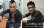 Cảnh sát đặc nhiệm nổ bốn phát súng bắt gọn hai tên cướp