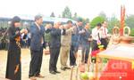 Truy điệu và an táng 32 hài cốt liệt sĩ quân tình nguyện