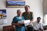 Đảng ủy - Ban Giám đốc CATP thăm các gia đình chính sách nhân ngày 27/7