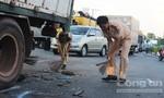 Công an Q.4 tìm nhân chứng vụ tai nạn trên đường Nguyễn Tất Thành