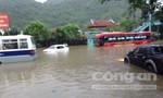 Thành phố Hạ Long đã bị chìm trong biển nước