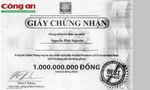 Trúng một tỷ đồng(!)